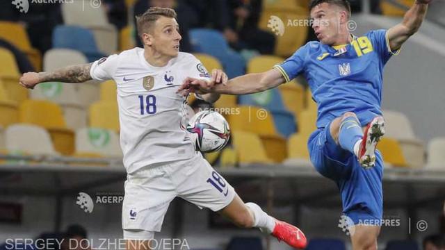 Fotbal | Franța a remizat și cu Ucraina, în preliminariile CM 2022