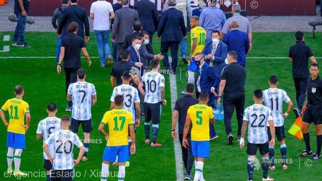 Fotbal | FIFA anunță o anchetă disciplinară în cazul meciului Brazilia - Argentina