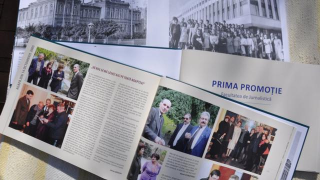 """A fost lansat albumul """"Prima promoție. Facultatea de Jurnalism, 1975-1980"""""""
