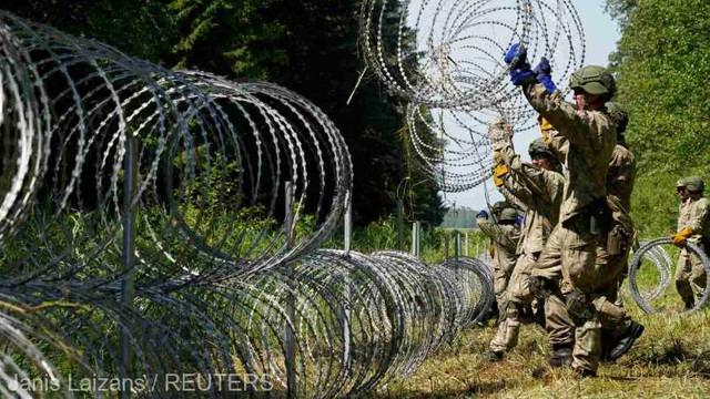 Republica Cehă ajută Lituania să construiască gardul de la frontiera cu Belarus