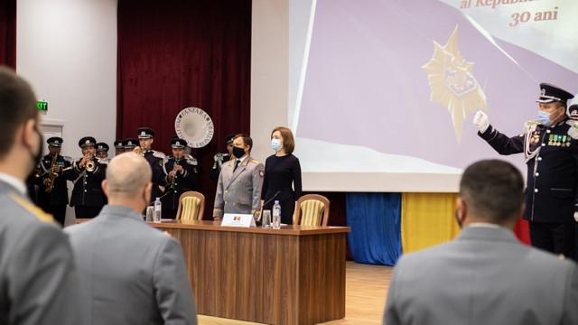 Președinta Maia Sandu a evidențiat corupția drept principalul risc la adresa securității naționale