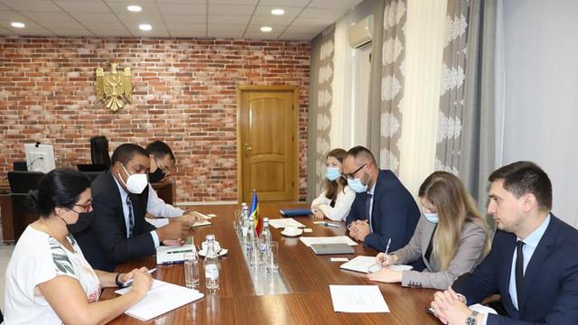 Ministrul Justiției a discutat cu reprezentantul FMI în R. Moldova, în contextul pregătirilor pentru negocierile cu misiunea