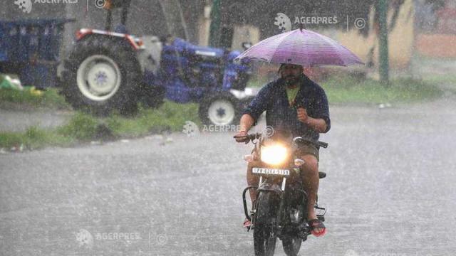 India a înregistrat cel mai scăzut nivel de precipitații în luna august din ultimii 19 ani
