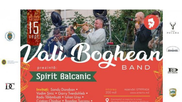 Vali Boghean și formația sa vor prezenta două concerte la Muzeul Național de Istorie