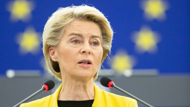 Ursula von der Leyen anunță că va organiza împreună cu Emmanuel Macron un summit european al apărării: Avem nevoie de o Uniune Europeană a Apărării