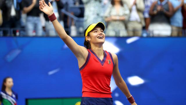 Regina Elisabeta a II-a a Marii Britanii a felicitat-o pe Emma Răducanu pentru câștigarea campionatului american de tenis US Open