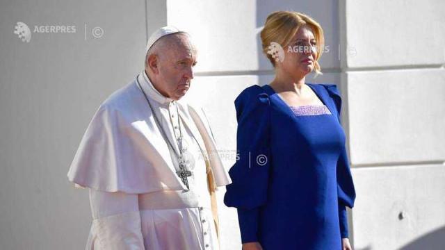 Papa Francisc face apel la ''o fraternitate'' care să depășească granițele în Europa