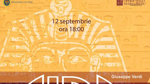 """Opera """"Aida"""", prezentată în cadrul Festivalului Internațional de Operă și Balet """"Maria Bieșu"""""""