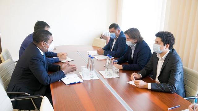 Conducerea Comisiei economie, buget și finanțe s-a întâlnit cu Reprezentantul permanent al FMI în Moldova