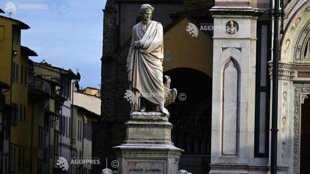 Italia comemorează marți 700 de ani de la moartea marelui poet Dante Alighieri