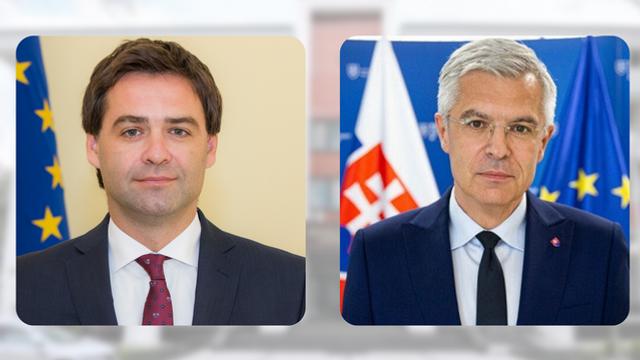 LIVE   Conferință de presă susținută de miniștri de externe ai R.Moldova și Slovaciei