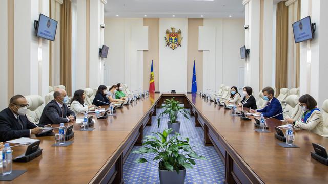 Premierul Natalia Gavrilița a avut o întrevedere cu delegația de oficiali europeni, oficiali ai Parteneriatului Estic și ai OSCE