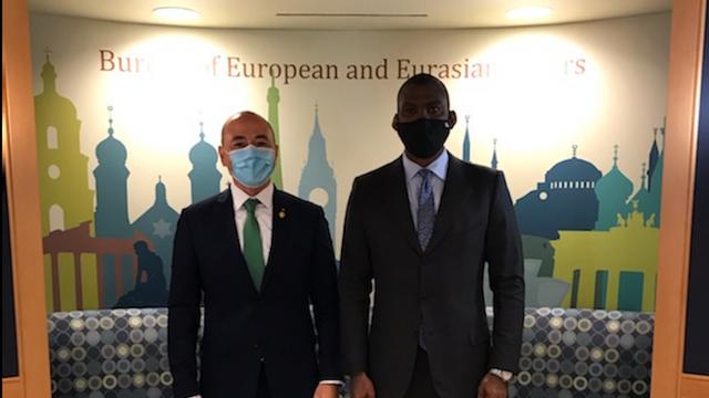 Ambasadorul României în SUA, Andrei Muraru, s-a întâlnit cu Dereck Hogan: Republica Moldova rămâne un punct de interes special pentru Statele Unite și pentru România
