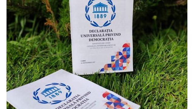 Ziua Internațională a Democrației a fost lansată la Parlament