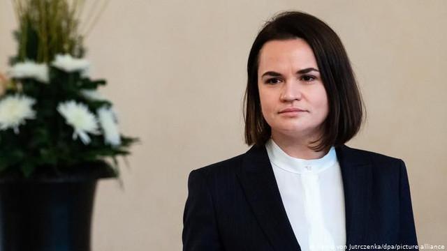 Belarus   Lidera opoziției belaruse din exil, Svetlana Tihanovskaia, îi cere ajutor lui Emmanuel Macron