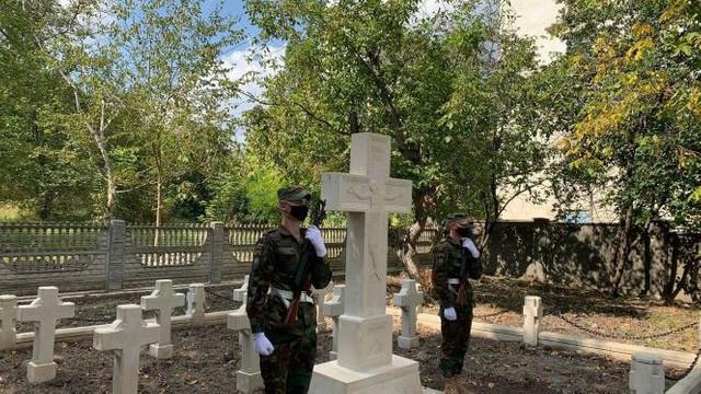 Cimitirul Eroilor Români, inaugurat la Fălești