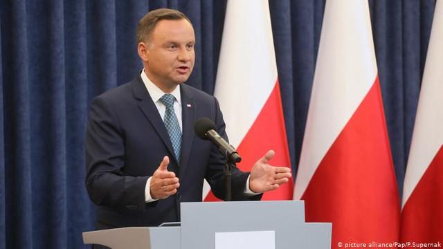 Președintele Poloniei s-a pronunța pentru extinderea UE, inclusiv prin aderarea R.Moldova și Ucrainei