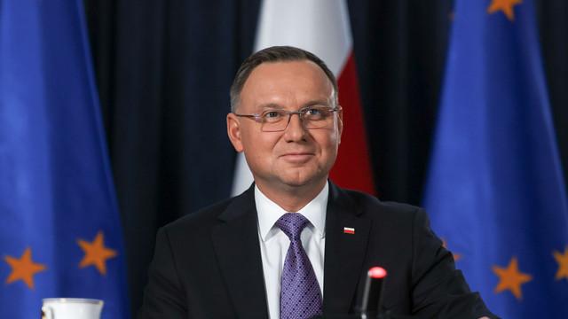 Președintele polonez descrie apartenența țării la UE drept o 'realizare civilizatoare'