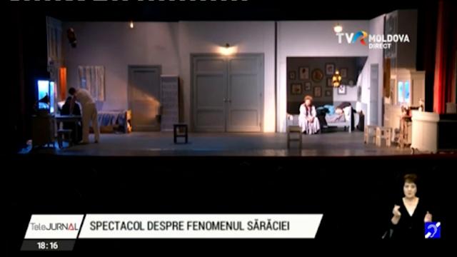 Spectacol extraordinar oferit de actorii Teatrului