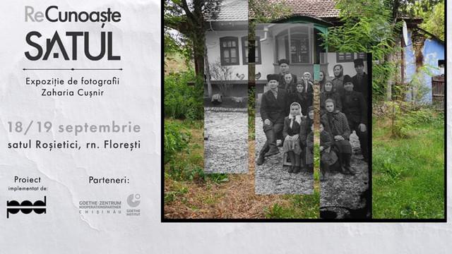 O expoziție cu fotografii din anii 1955-1970, vernisată la Roșietici din raionul Florești