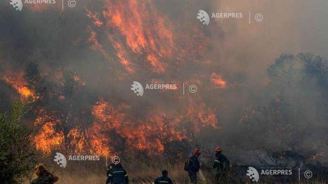 Grecia: Incendii în apropiere de Atena