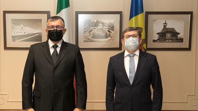 R. Moldova este interesată în încheierea de noi acorduri de colaborare cu Italia