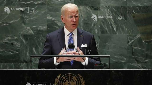 Joe Biden promite la ONU o nouă eră de