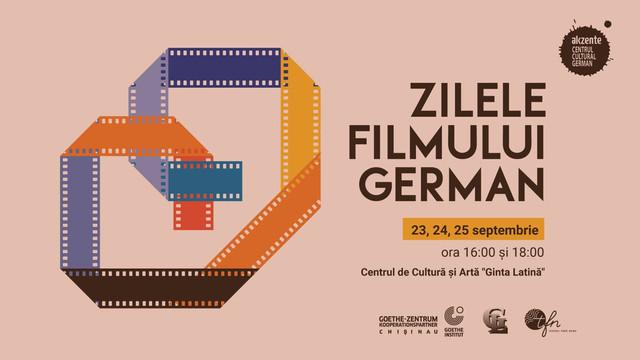 """""""Zilele Filmului German"""", ediția 2021, vor fi organizate la Chișinău, în perioada 23 - 25 septembrie"""