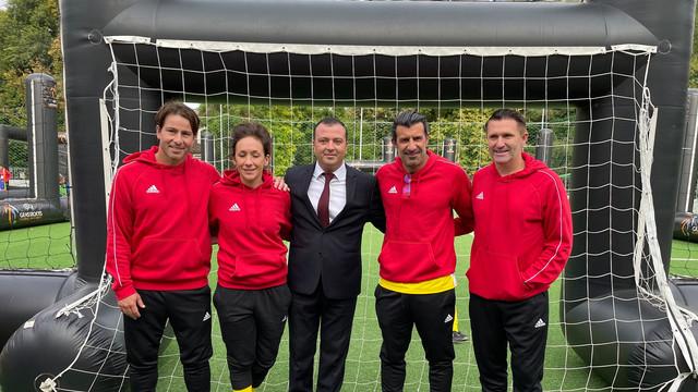 Legende ale fotbalului, printre care Luis Figo, Maxwell Scherrer, Robbie Keane, participă, la Chișinău, la ședința Comitetului Executiv UEFA