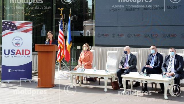 Instanțele judecătorești din R. Moldova vor tinde să devină exemplare, grație unui proiect oferit de USAID