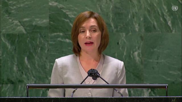 LIVE   Discursul președintei Maia Sandu în cadrul Adunării Generale a Organizației Națiunilor Unite