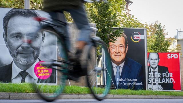 Cursa pentru conducerea Germaniei devine tot mai strânsă înainte de ziua alegerilor. Ce arată cel mai nou sondaj