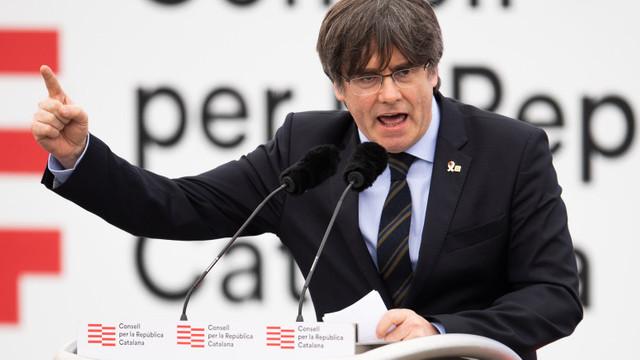 Liderul separatist catalan Carles Puigdemont a fost arestat în Italia