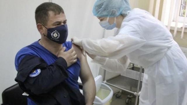 Circa 82% dintre pompieri și salvatori sunt vaccinați împotriva COVID-19