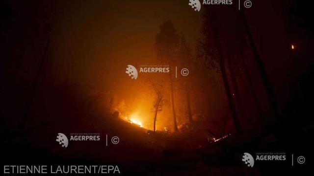 SUA | Peste 1.600 de pompieri luptă cu un nou incendiu de vegetație izbucnit în nordul Californiei