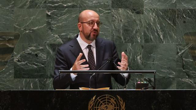 """Charles Michel critică de la tribuna ONU """"actele de război împotriva mediului înconjurător"""": Omenirea trebuie să semneze """"un tratat de pace cu planeta noastră"""""""