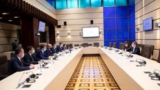 Igor Grosu s-a întâlnit cu membrii Grupului de lucru al Partidului Popular European România. Subiectele discutate