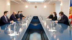 Maia Sandu a discutat cu membrii Grupului Partidului Popular European din partea României