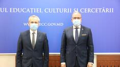 Ministrul Educației, Anatolie Topală, a avut o întrevedere cu ambasadorul României, Daniel Ioniță