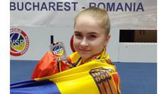 Andreea Axenti, campioană mondială: Karate-do dezvoltă forța, viteza, rezistența, încrederea în sine! (AUDIO)