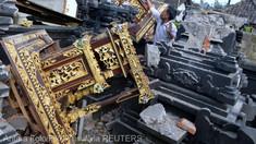 Un seism în insula Bali a provocat moartea a 3 persoane și 7 răniți
