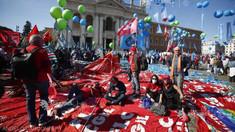 Amplă manifestație împotriva fascismului, la Roma