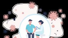 Ministerul Sănătății anunță deschiderea unui punct de vaccinare într-un spital privat din Chișinău