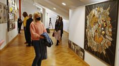 Artistul plastic Victor Cuzmenco și-a expus lucrările la Muzeul Național de Artă al Moldovei