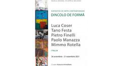 Cinci artiști plastici italieni și-au expus lucrările la un muzeu din Chișinău