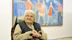 O expoziție a pictoriței Valentina Rusu-Ciobanu a fost deschisă la Chișinău