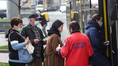 Primăria din Kiev a anunțat introducerea permisului sanitar inclusiv pentru transportul public