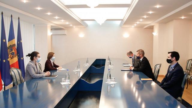 Reformele anticorupție, discutate de președinta Maia Sandu cu ambasadorul Regatului Unit al Marii Britanii și Irlandei de Nord