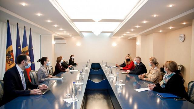 Președintele Maia Sandu s-a întâlnit cu coraportorii Comisiei de monitorizare a APCE