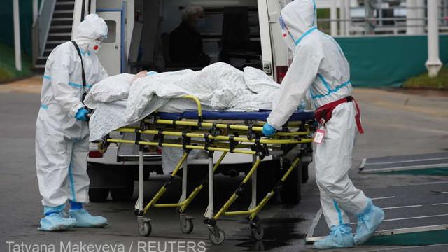 Rusia a înregistrat un nou record zilnic de infectări cu COVID-19 și de decese